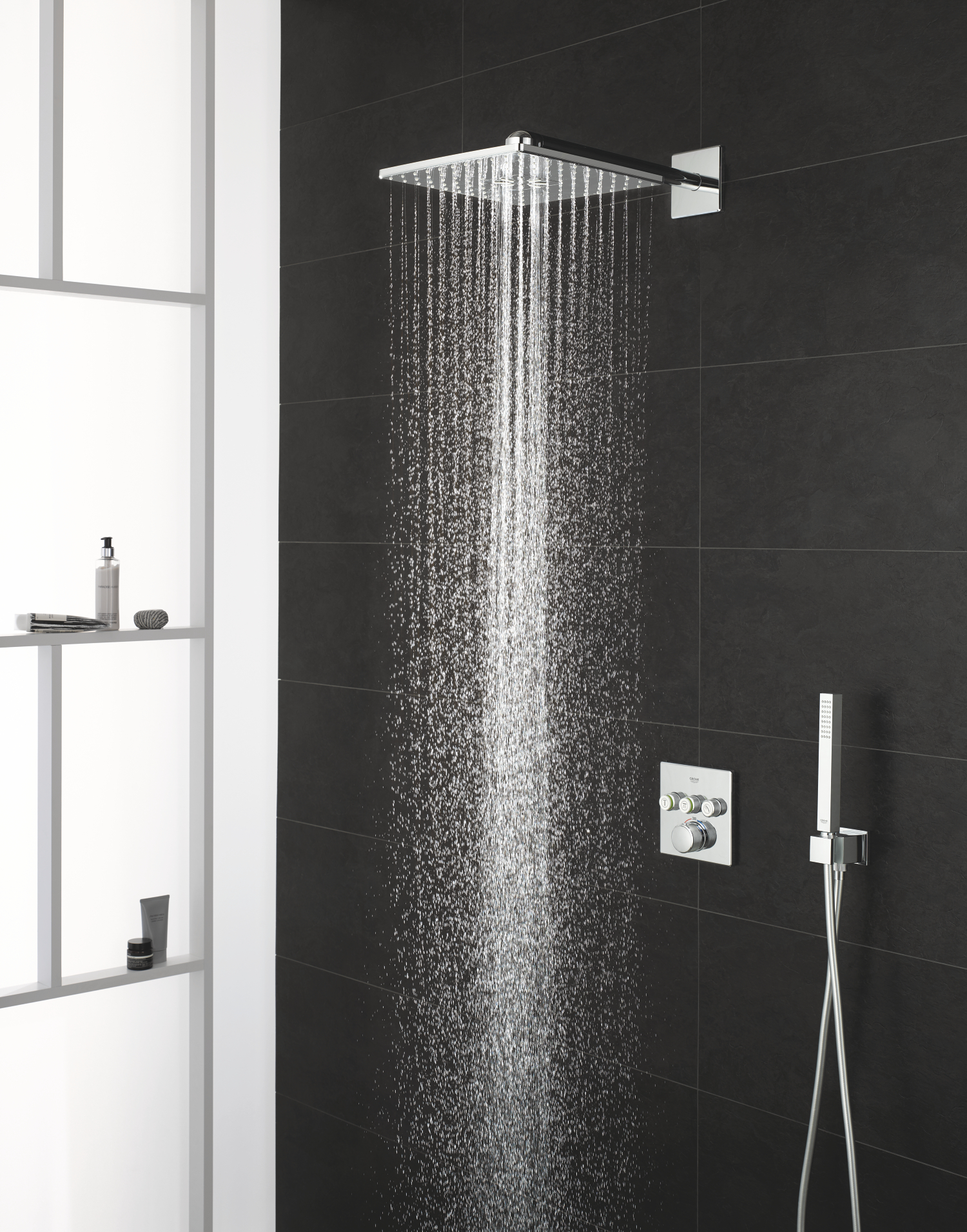 Rain shower smart active square.Grohe - Town and Country Tiles and ...